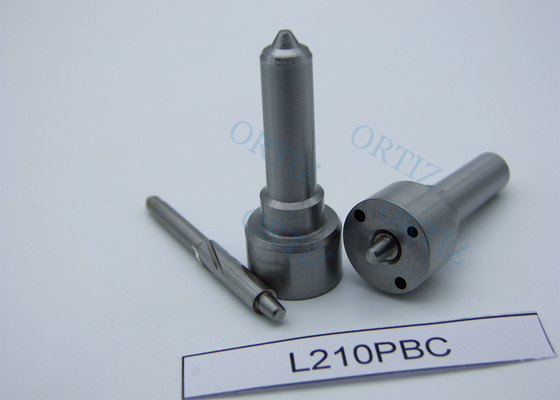 Spray Type Diesel Fuel Nozzle , Silvery Needle Color Oil Jet Nozzle L210 PBC