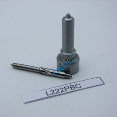 Silver Color Truck Spare Parts , High Pressure Fuel Injector Nozzles L222PBC